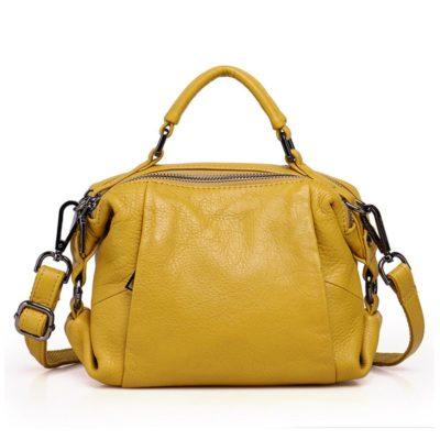 Boston Genuine Leather Handbag