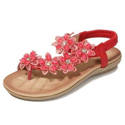 Classic Floral Sandals