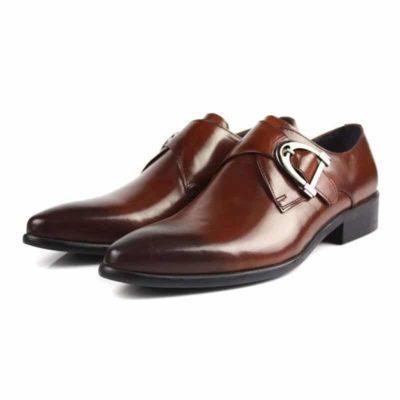 Rubber Genuine Leather Shoe