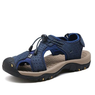 Genuine Leather Men's Sandals