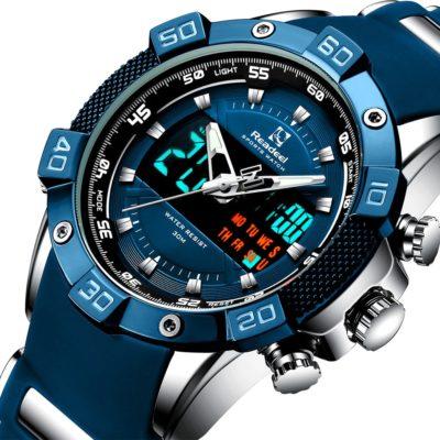 Digital Quartz Men's Watch