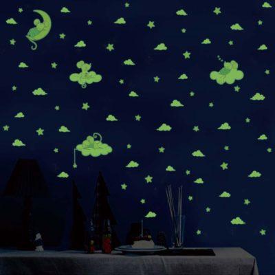 Bedroom Glow dark Stickers