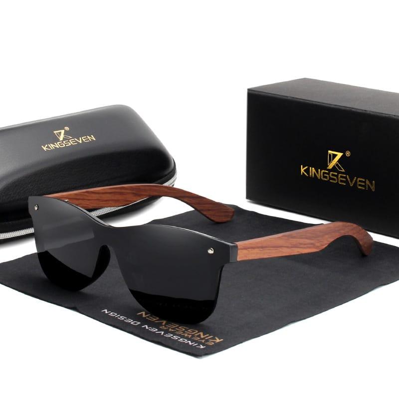 Men's Wooden Sunglasses for Driving