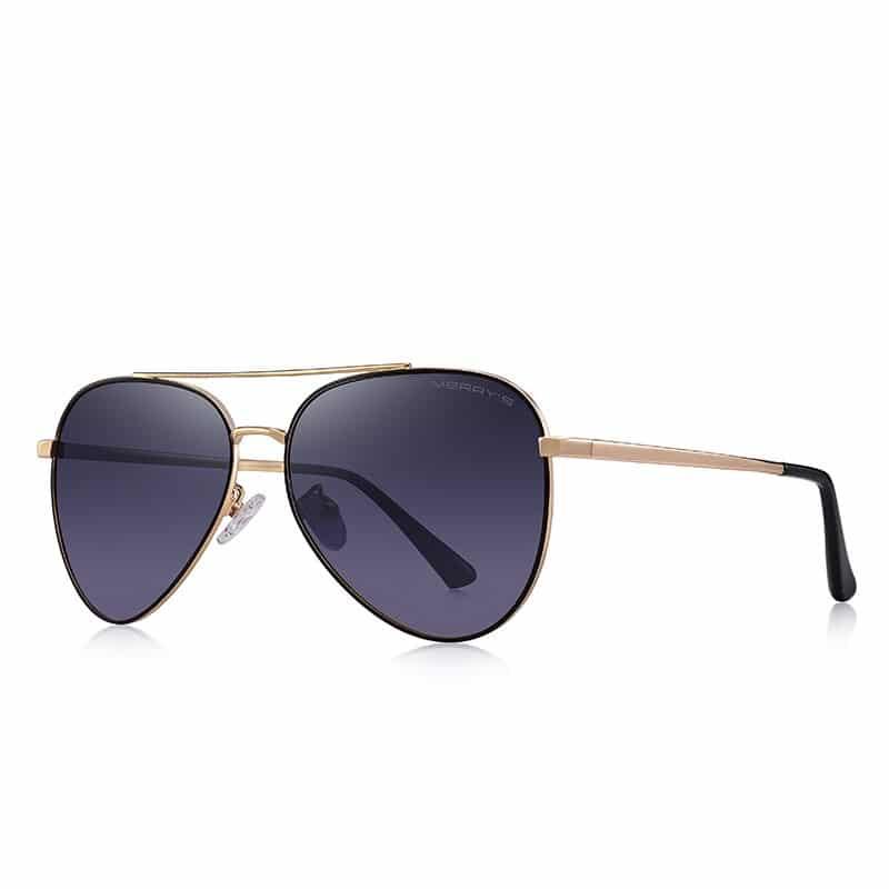 Men's Polarized Classic Pilot Sunglasses