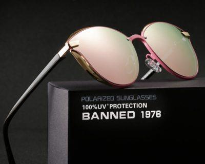 Luxury Round Oversized Women's Sunglasses