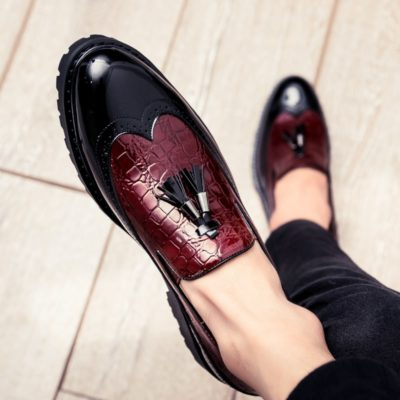 Men's Casual Leather Slip-on Shoes