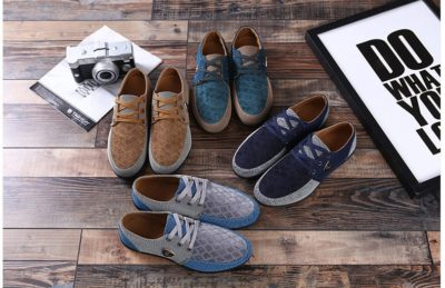 Men's Casual Style Canvas Shoes