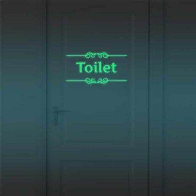 Luminous Toilet Wall Sticker