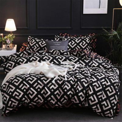 Modern Geometric Bed Sets