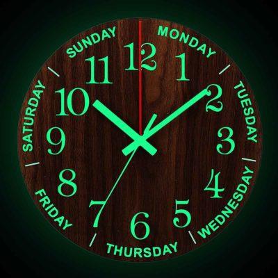 Luminous Wall Clock