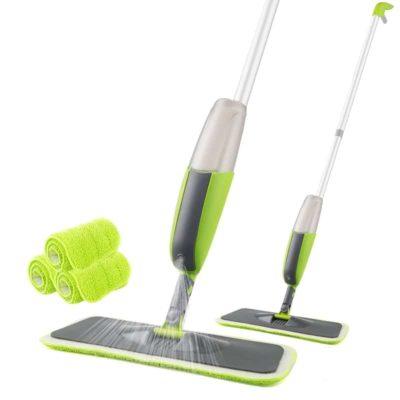 Reusable Microfiber Magic Spray Mop Wooden Floor