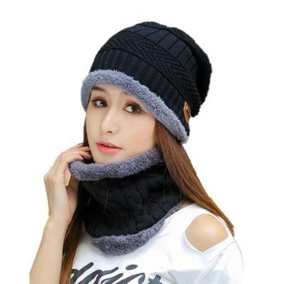 Unisex knitted Bonnet winter Cap