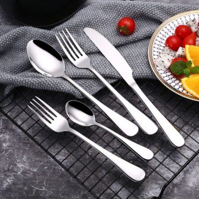 30Pcs/set Stainless Steel Cutlery Set