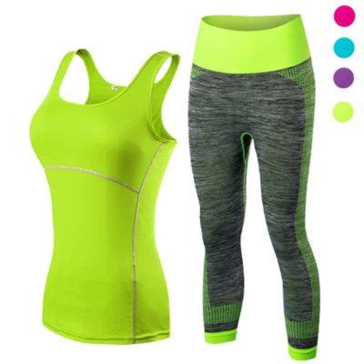Yoga Gym Training Workout Set